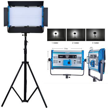 1 pc yidoblo led lamp light d 3100ii 200w 20000 lumen studio professional multi color photography led video continue light LED Photography Lamp 100W Video Light Studio Photo Light Yidoblo A-2200IV Bi-color 3200-5500K Fill Lighting Continuous Lighting