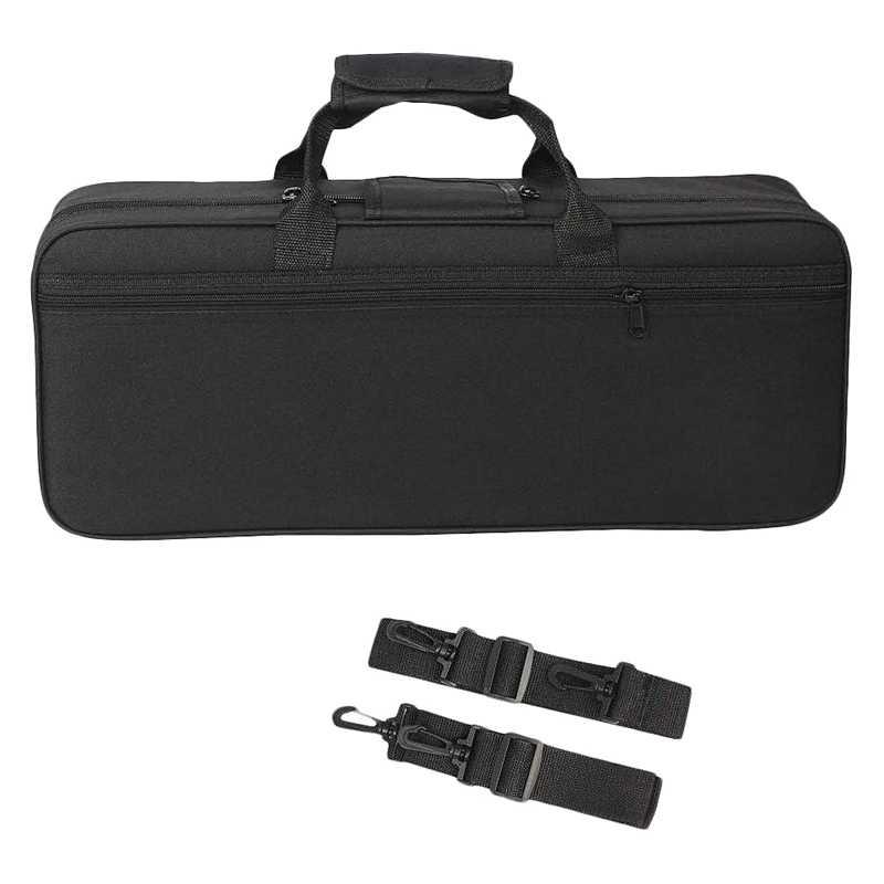 Труба Gig Bag Box рюкзак водостойкий ткань Оксфорд чехол для переноски с регулируемым двойным плечевым ремнем карман пена хлопок P