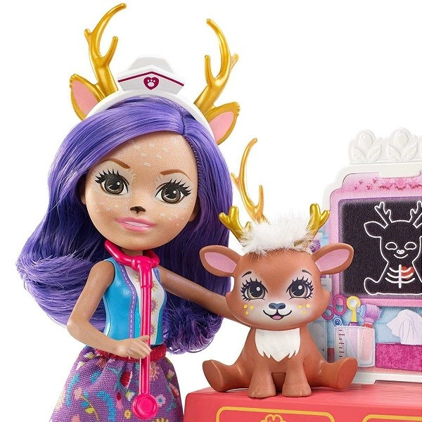 Toy Enchantimals Doll With Pet FNH22