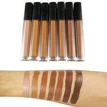 Wholesale Liquid Foundation Full Coverage Foundation Base Makeup Matte Oil Control Concealer Private Label Cream Cosmetics Bluk