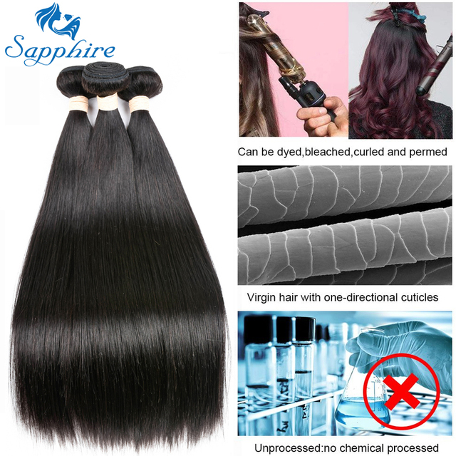 Sapphire straight bundles with clo