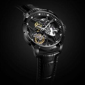 Image 3 - 슈퍼 새로운 모델 원래 뚜르 비옹 비즈니스 남성 시계 톱 브랜드 럭셔리 해골 사파이어 시계 남자 Relogio Masculino