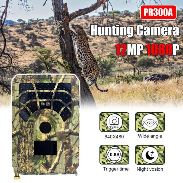 12MP 1080P Track Hunting Camera Wild Surveillance Camera PR300A Night Version Wildlife Scouting Cameras Photo Traps Track 1