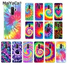 MaiYaCa Tie Dye Pattern Batik Rainbow TPU Soft Silicone Phone Case Cover for Samsung S5 S6 edge plus S7 S8 Plus S9