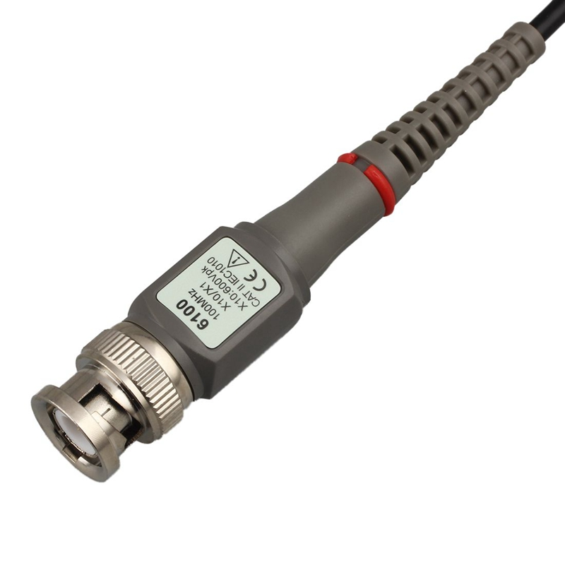 1 Комплект Высокое качество P6100 осциллограф зонд DC-100MHz прицел клип зонд 100 МГц