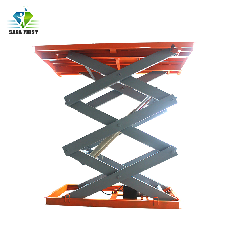 China Supplier <font><b>2000lb</b></font> to 5000lb heavy cargo lift tables with CE quality image