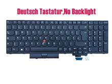 Tastatur deutsch para lenovo thinkpad p51s (tipo 20hb, 20hc, 20jy, 20k0) p52s (tipo 20lb, 20lc) sem luz de fundo