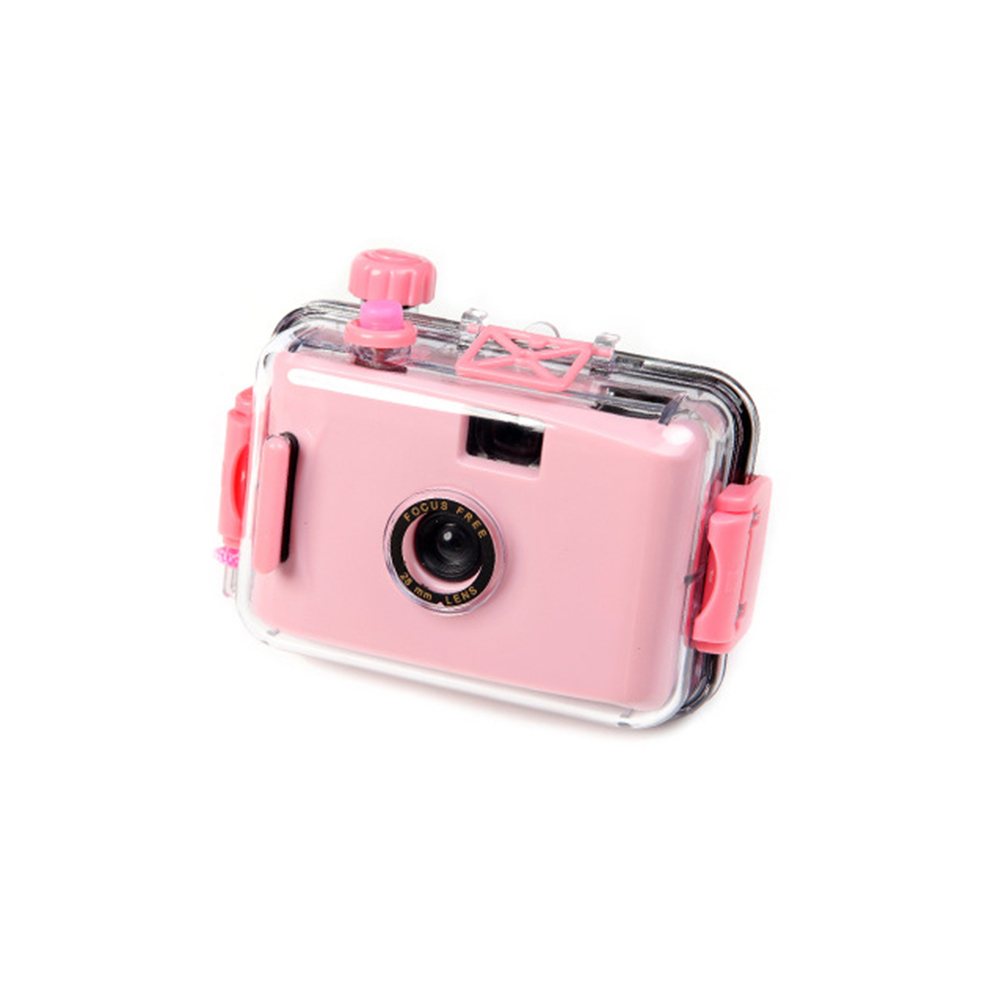 Digital Photography Waterproof Fashion With Housing Case Birthday Gift For Snorkeling Durable Film Cute Underwater Mini Camera