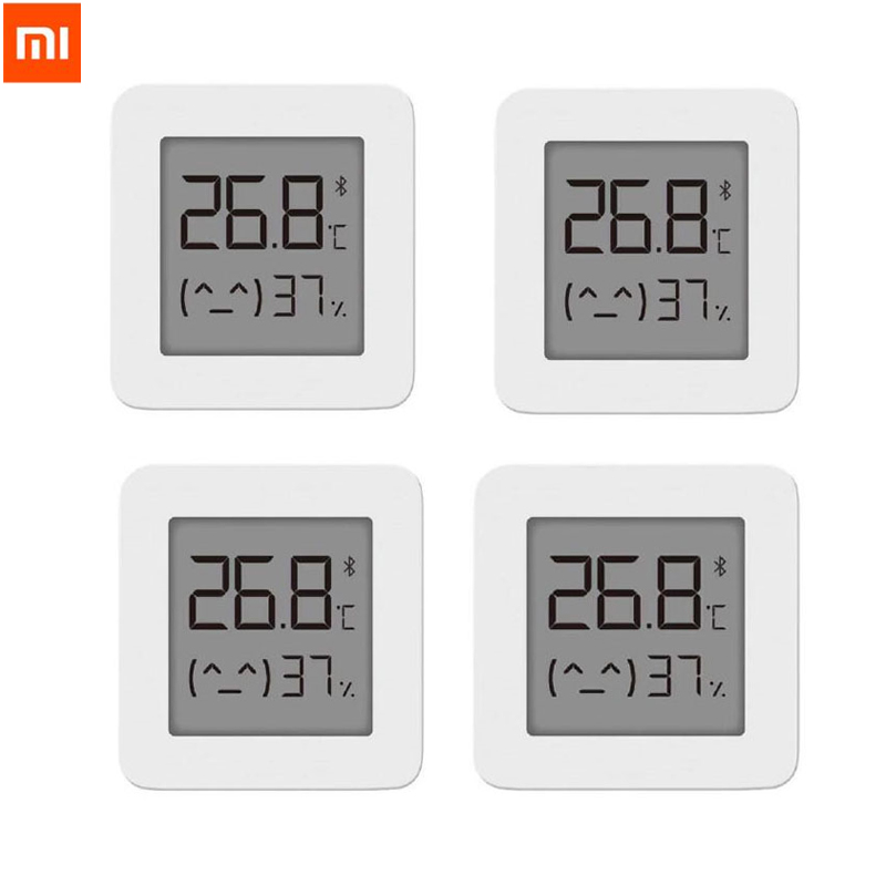 [Newest Version]Xiaomi Mijia Bluetooth Thermometer 2 Smart Wireless Electric Digital Hygrometer Thermometer Work With Mijia APP