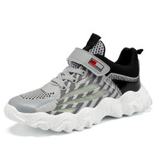 DIMI Children Shoes Boys Shoes Casual Kids Sneakers Fashion Spring Summer Sneakers For Boys Brand Breathable Running Shoes cheap Rubber COTTON Fits true to size take your normal size Mesh (Air mesh) Hook Loop Solid Spring Summer Autumn Winter Unisex