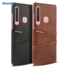 Pu Leather Case For Samsung Galaxy A9 2018 Phone A7 A750 Business M30 Cover
