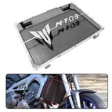 Accessori moto Radiatore Griglia di Copertura Della Protezione Per Yamaha MT09 FZ09 MT 09 Griglia MT 09 Radiat Nero Grigio Rosso 2014 2017