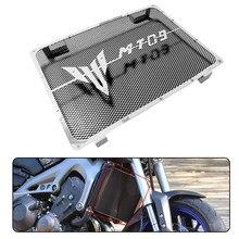 Acessórios da motocicleta grade de radiador guarda capa para yamaha mt09 fz09 mt 09 grill MT-09 radiat preto cinza vermelho 2014-2017