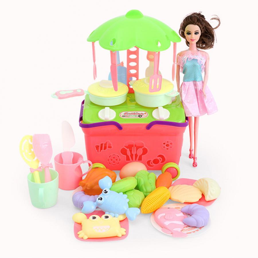 Bébé Mini ustensiles de cuisine jouet en plastique coloré simulé ustensiles de cuisine vaisselle enfants semblant jouer rôle cuisine jouet jeu de rôle jouet