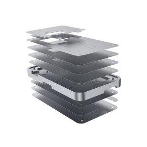 Image 1 - TUOLI TL 19A 10 In1ดีบุกปลูกแพลตฟอร์มสำหรับ iPhone X 12 Pro Max PCB เมนบอร์ดผู้ถือ Logic Board บัดกรีเครื่องมือบำรุงรักษา