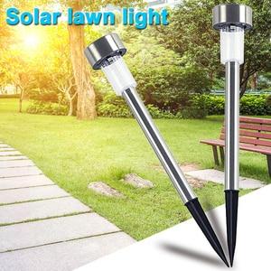 10 шт., светодиодный садовый светильник на солнечной энергии, для улицы, водонепроницаемый, ландшафтный, светильник, для улицы, патио, Ярда, га...