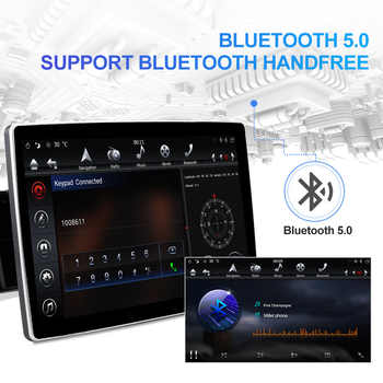 Voice Control! 1920*1080P 2K IPS 2 Din Android Car Multimedia For Nissan/KIA/Hyundai/Toyota/VW Auto Radio GPS RAM 4GB ROM 32GB