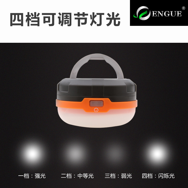 Lynn Valley Portable LED Tent Light Dry Battery Super Bright Camping Outdoor 3AA Campsite Lamp Lantern Eg-928