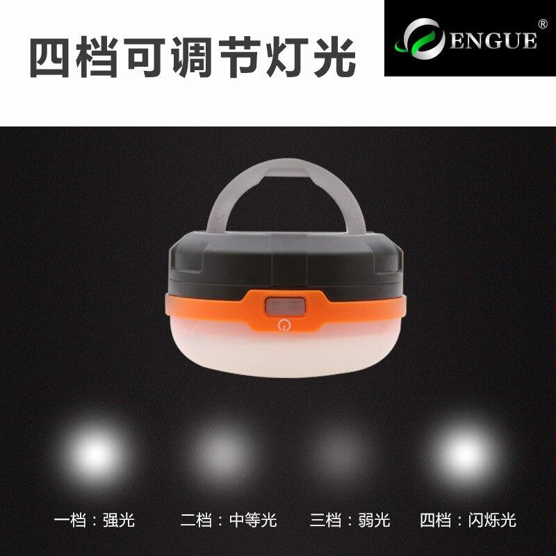 Lynn vadi taşınabilir LED çadır ışığı kuru pil süper parlak kamp açık 3AA kamp lamba fener Eg-928