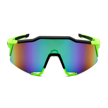 цены Men's PC Riding Glasses Colorful  Sunglasses Bicycle Windproof Sunglasses Outdoor Sports Eye High Quality Cycling Sunglasses