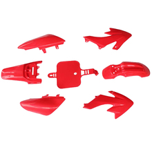 цена на Replacement Off-road Vehicle Plastic Cover Lightweight Mudguard Motorcycle Shell Fairing Accessories Guard For Honda XR50 CRF50