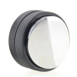 Ecocoffee aço macaron convexo tamper de café 58mm profissão mini ajustável distribuidor barista máquina de café