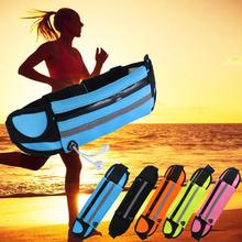 Portable Outdoor Running Camping Waterproof Anti Theft Waist Bag Storage Pouch Phone Belt Jogging Waist Pack Carrying Portable