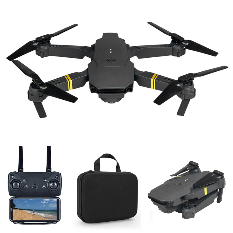 Drone E58 WIFI FPV With Wide Angle HD 4K 1080P 720P 480P Camera Hight Hold Mode Foldable Arm RC Quadcopter Drone X Pro RTF Dron