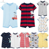 2020 New Infant Baby Boys Clothes Cartoon Animal Short Sleeve Pajamas Rompers Newborn Baby Cotton Clothing Toddler Boys Roupas Pajamas
