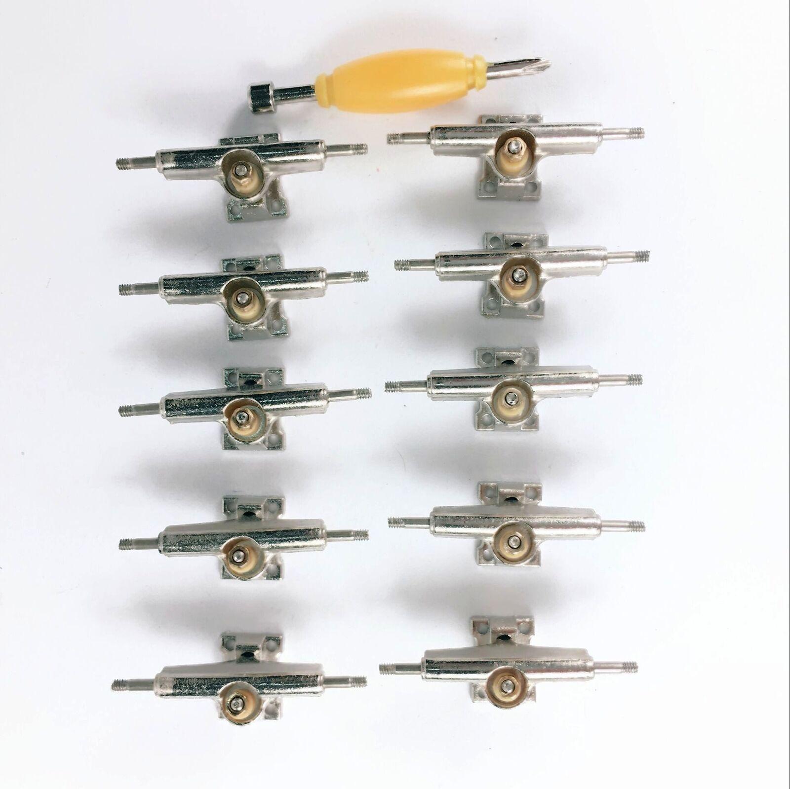 Lot 56pcs bearing Wheels For 96mm Fingerboard Skateboard wooden Deck accessory
