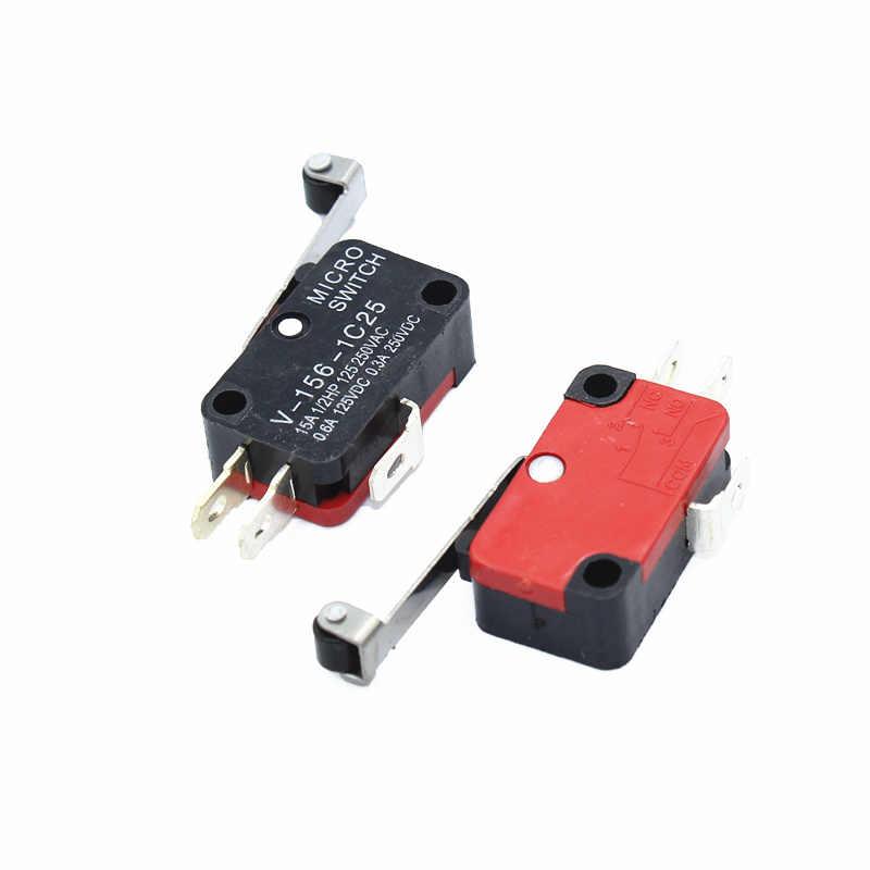 1 piezas de palanca, SPDT, NO/NC momentáneo Micro interruptores V-156-1C25