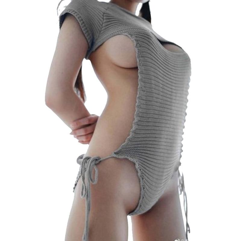 Женский купальник Coser, вязаный крючком однотонный купальник, женский купальник, пляжный свитер, бикини, полый сексуальный купальник, свободный размер|suit suit|suit sexysuits size | АлиЭкспресс
