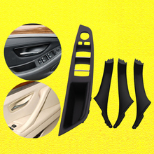 Left Hand Drive LHD For BMW 5 Series F10 F11 F18 Gray Beige Black Car Interior Door Handle Inner Door Panel Pull Trim Cover New car inner handle inner door panel pull trim cover left right for bmw 3 series e90 e91 316 318 320 325 328 car interior door hand