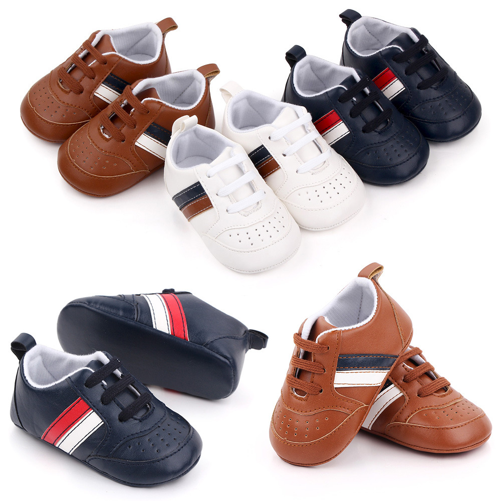 New Fashion Newborn Baby Boy Crib Shoes Toddler Moccasins Loafers Infant Trainers Tenis Baby Girl Shoes 1 Year Learning Walking