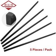 Ручки для дверей шкафов aobt 5 шт/лот длина 800/1000/1200 мм