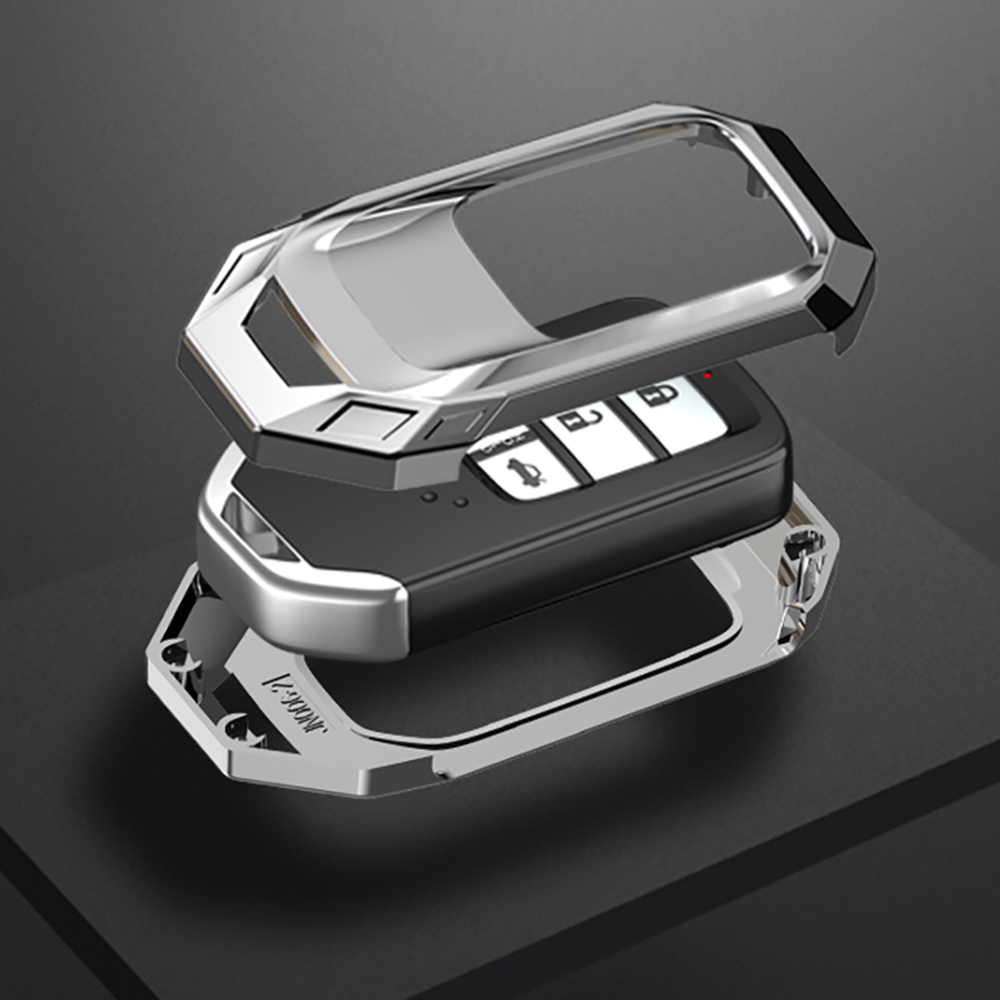 lowest price Zinc Alloy Car Remote Key Case Cover For Honda Civic Accord Pilot CRV HR-V City Odyssey Fit Freed 2016 2017 2018 2019