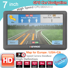 Navigation Caravan TRUCK GPS Sat Nav CAMPING 7inch Maps Portable Europe HD for Russia