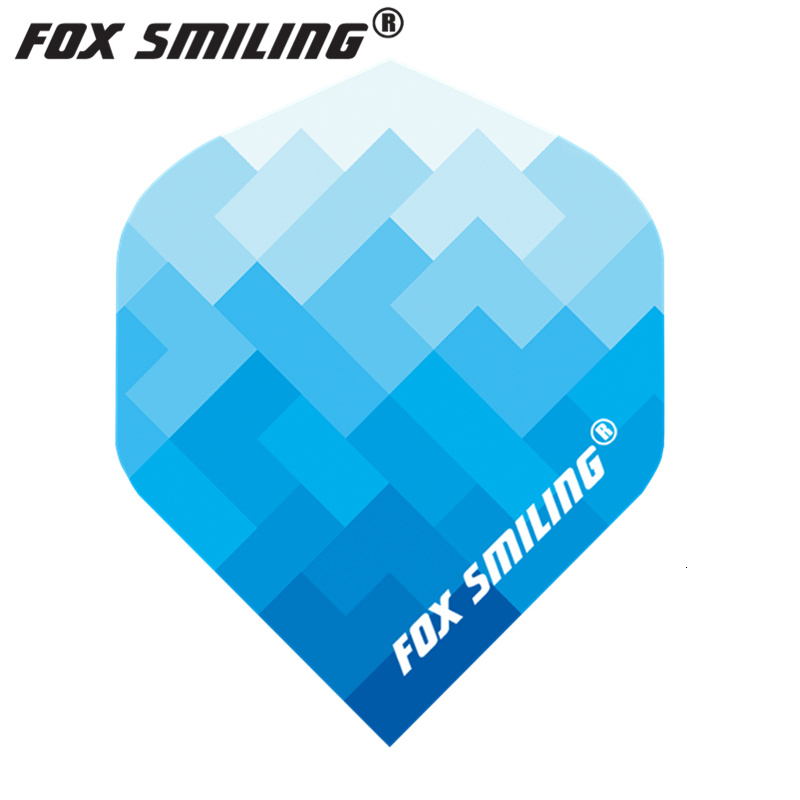 Fox Smiling 30PCS With Very Good Quality Dart Flights PET Darts Flights Professional Dart Accessories  Dardos Feather Leaves