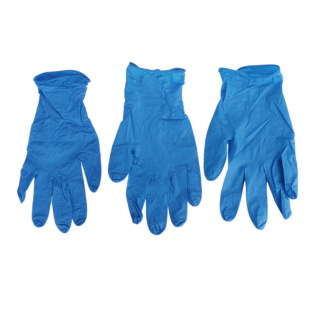 50 Pairs Laboratory Disposable Gloves Latex Nitrile Gloves Lab Consumables Hospital Single-use Protective Gloves S/M/L