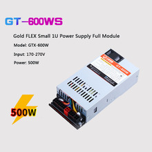 PC Power Supply 500W Full Module 7025B FLEX Small 1U PSU Gold For K39 K35 S3 M41 M24 ITX MINI Case Switching Source F