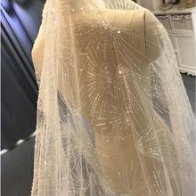 2019 Luxury Long lace veil wedding veil sparkling bridal veil 3*4 sizes
