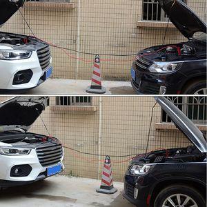 Image 4 - 3 metre/4 metre 2200A/2600A araba bataryası güçlendirme kablosu acil ateşleme atlama marş kurşun tel kelepçeleri için oto SUV