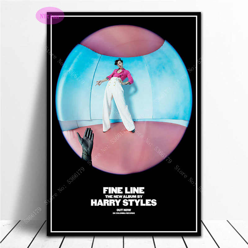 Nt1024 Poster Prints Harry Styles Tour Star Fine Line Music Album Cover Wall Art Picture Prints Canvas Painting Home Room Decor Painting Calligraphy Aliexpress