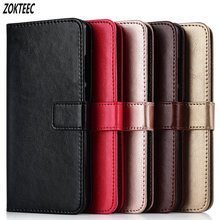 For ZTE Blade X7 Z7 D6 V6 V8 Mini ZTE V9 X9 A610 Z10 A6 Cover Leather Retro Flip Wallet Stand Phone Cases Bag Coque