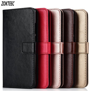 For ZTE Blade X7 Z7 D6 V6 V8 Mini ZTE V9 X9 A610 Z10 A6 Cover Leather Retro Flip Wallet Stand Phone Cases Bag Coque(China)