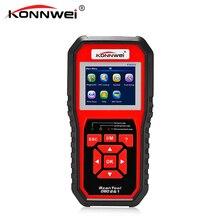 KONNWEI KW850 kod okuyucu teşhis aracı OBD2 otomatik tarayıcı pil gerilim test ücretsiz güncelleme KW 850 OBDII EOBD araba arıza motor