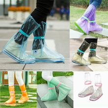 Protectors Shoes Rain-Boots Outdoor Waterproof Reusable Unisex for Days 5z Thicken
