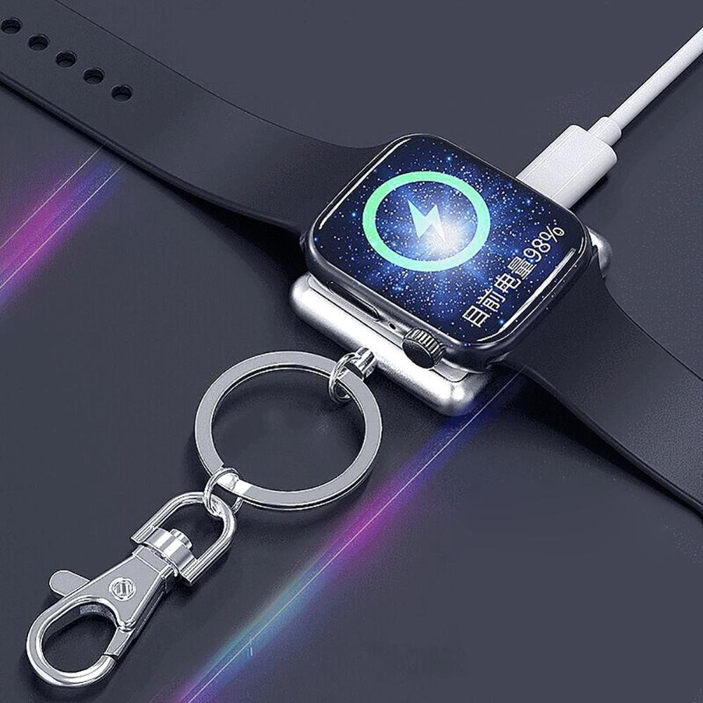 Wireless Magnetic Fast Charger for Apple Watch 4 3 2 1 Travel Outdoor Portable Charger Wireless Charging Pad for Apple Watch in Smart Accessories from Consumer Electronics