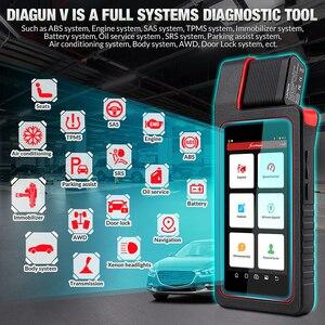 Image 2 - 起動X431 diagun v OBD2自動診断systemcodeリーダースキャナobdii obdスキャンツールの更新オンラインpk MK808 CRP909E