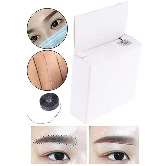 Mapping pre-ink string for Microblading eyebow Dyeing Liners Thread Semi Permanent Positioning Eyebrow Make Up Measuring Tool 3